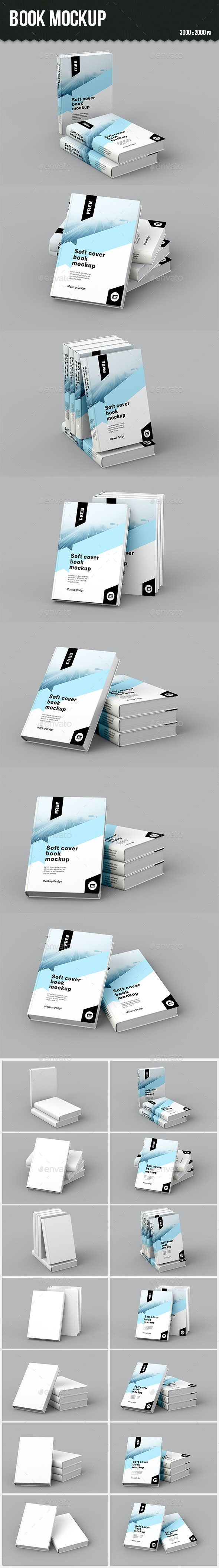 Book Mockup - Books Print