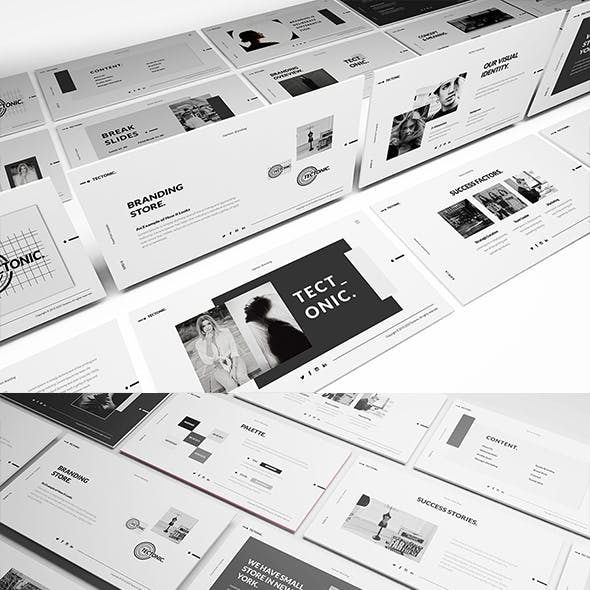 Fashion Brand Presentation Templates From Graphicriver