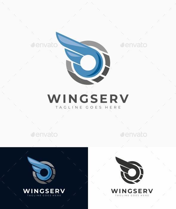 Wing Service Logo - Abstract Logo Templates