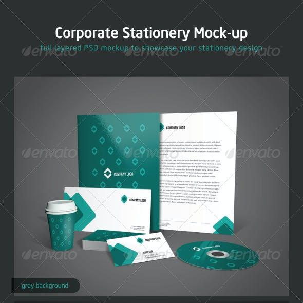 Corporate Stationery Mock-up