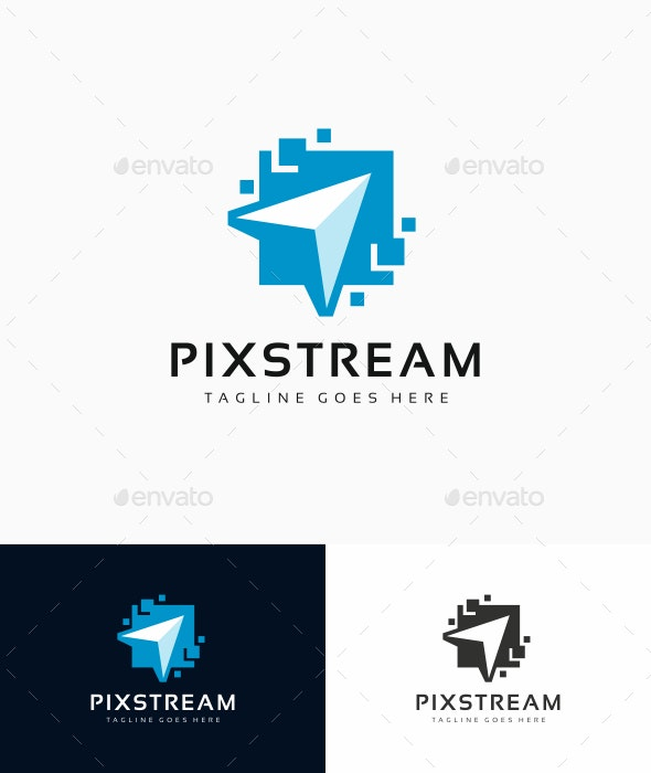 Digital Click Logo - Abstract Logo Templates