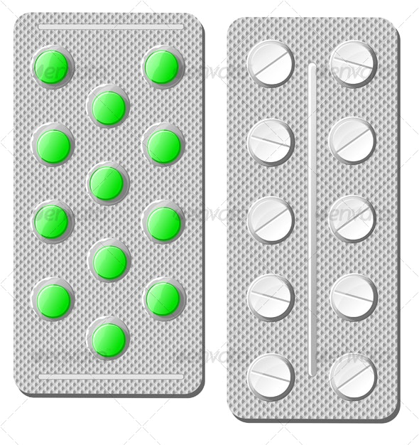 Pills and drugs - Health/Medicine Conceptual