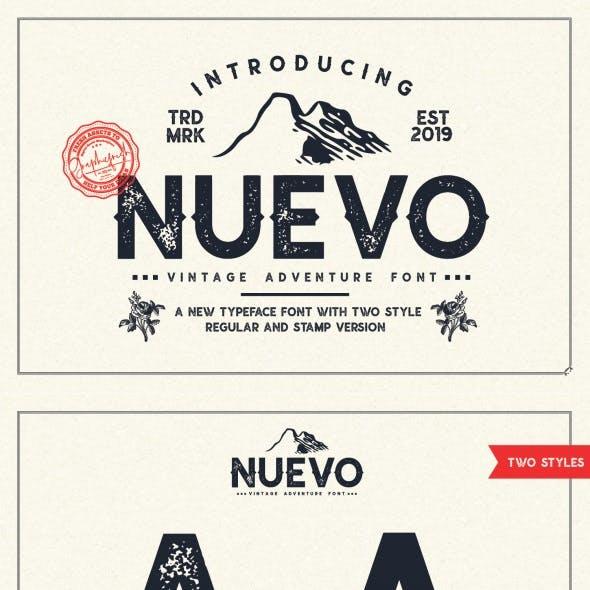 Nuevo – Vintage Adventure Font