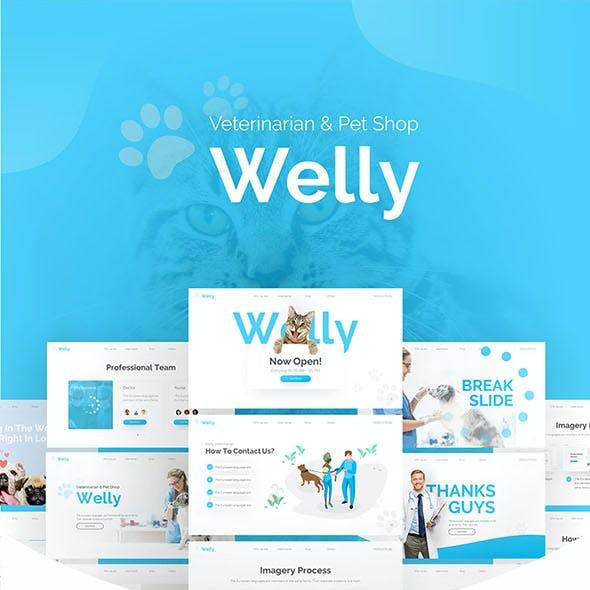 Welly Veterinary Animal & Pet Shop Keynote Template