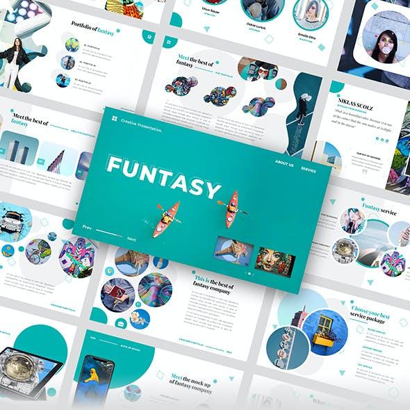 Funtasy – Creative Business Googleslide Template