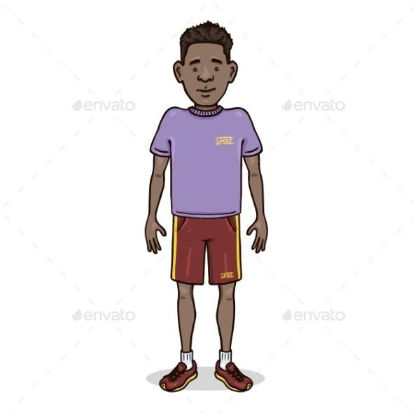 Vector Cartoon Character