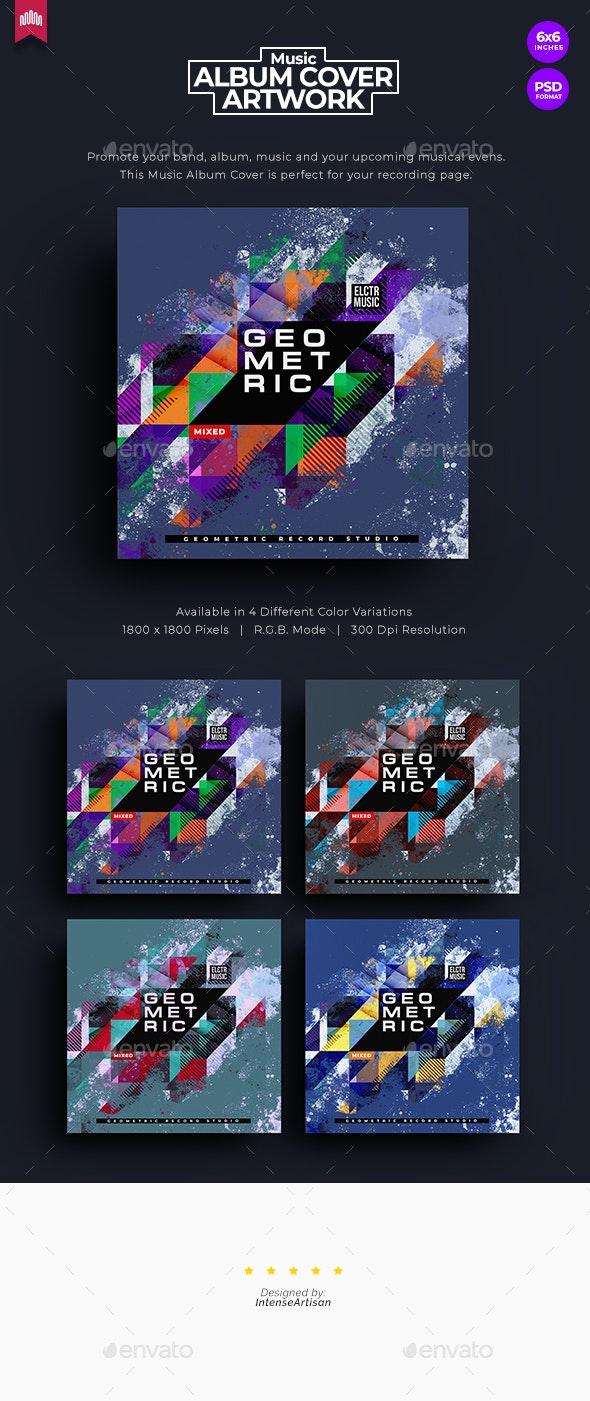 Geometric - Music Album Cover Artwork - Miscellaneous Social Media