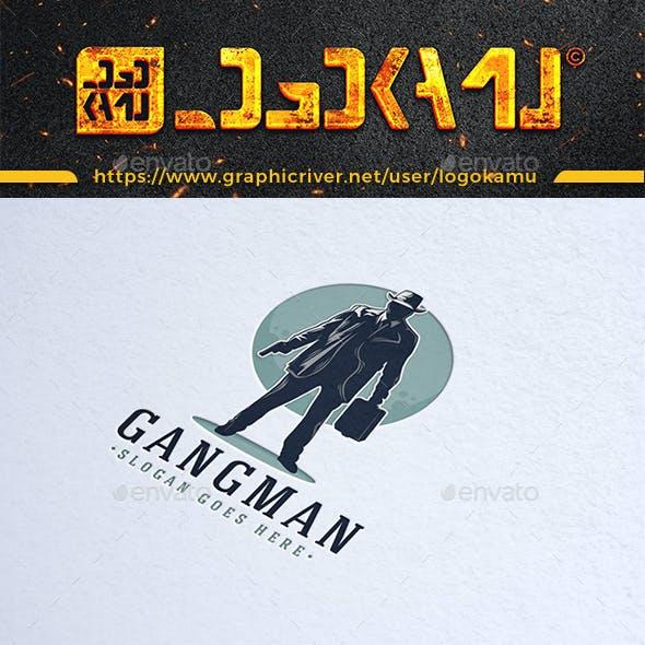Gangster Man Logo