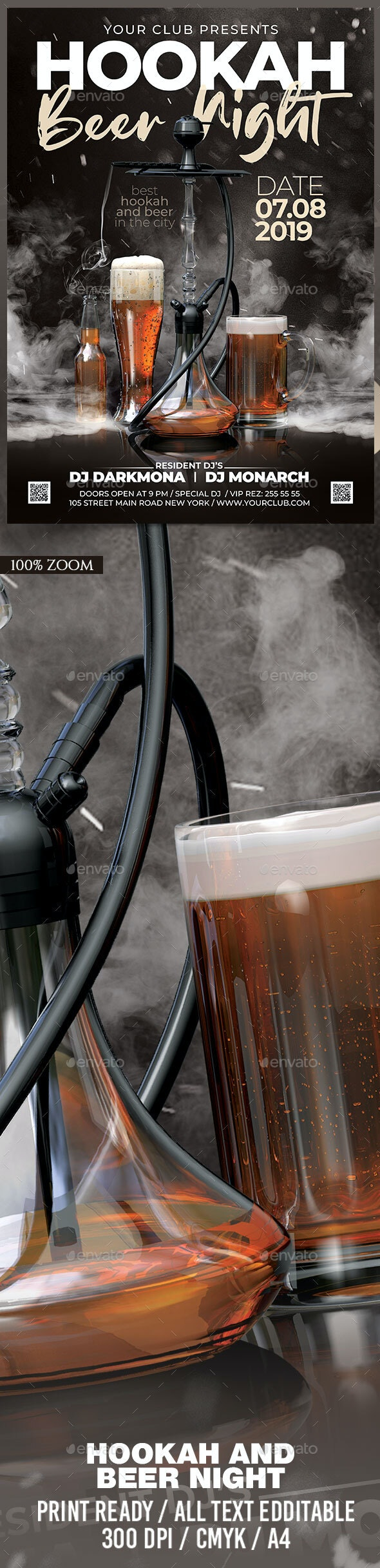 Hookah and Beer Night - Clubs & Parties Events
