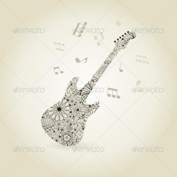 Guitar7 - Miscellaneous Vectors