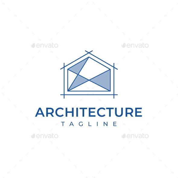 Architecture Blueprint Logo