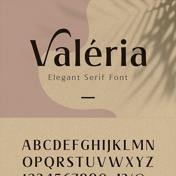 Valeria - Elegant Serif