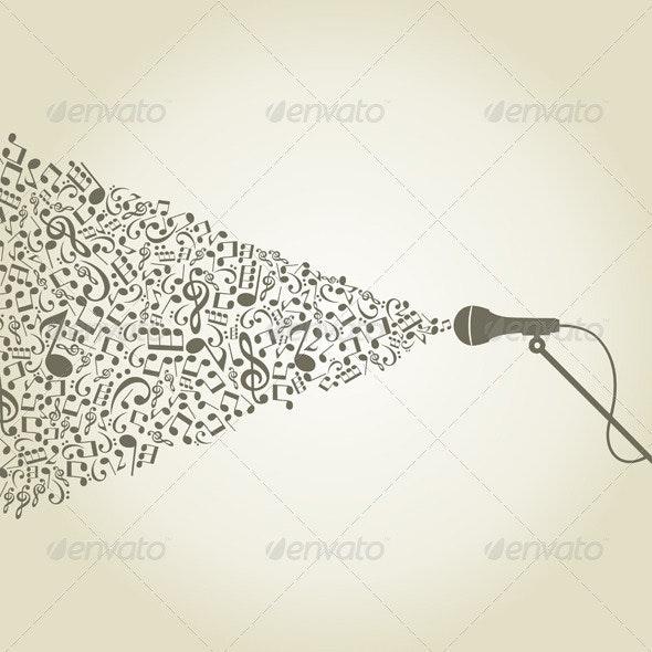 Microphone3 - Miscellaneous Vectors