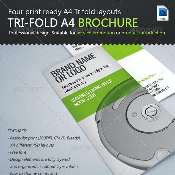 Service / Product Tri-Fold A4 Brochure