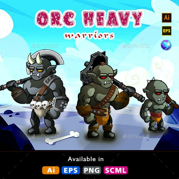 Orc Demon Enemy Character
