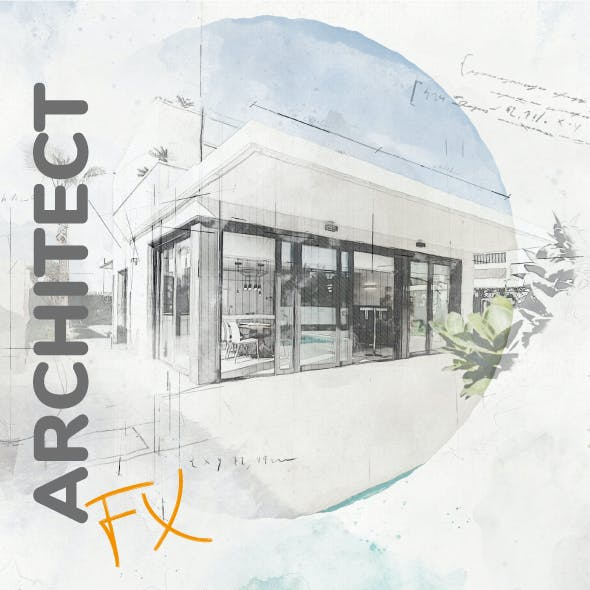 Architecture Photoshop Action