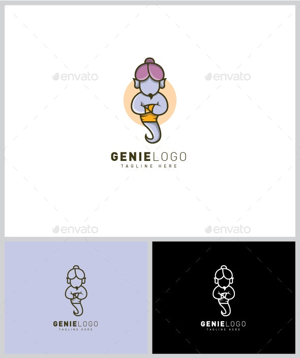 Genie Logo - Vector Abstract