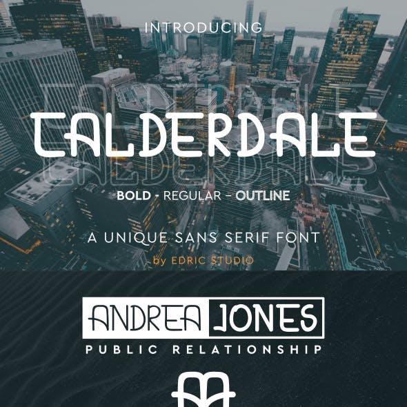 Calderdale Font