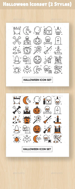 Halloween Iconset - Seasonal Icons