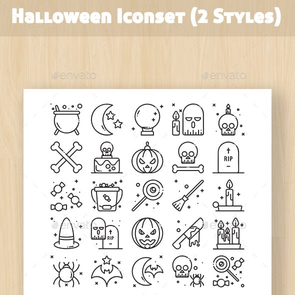 Halloween Iconset