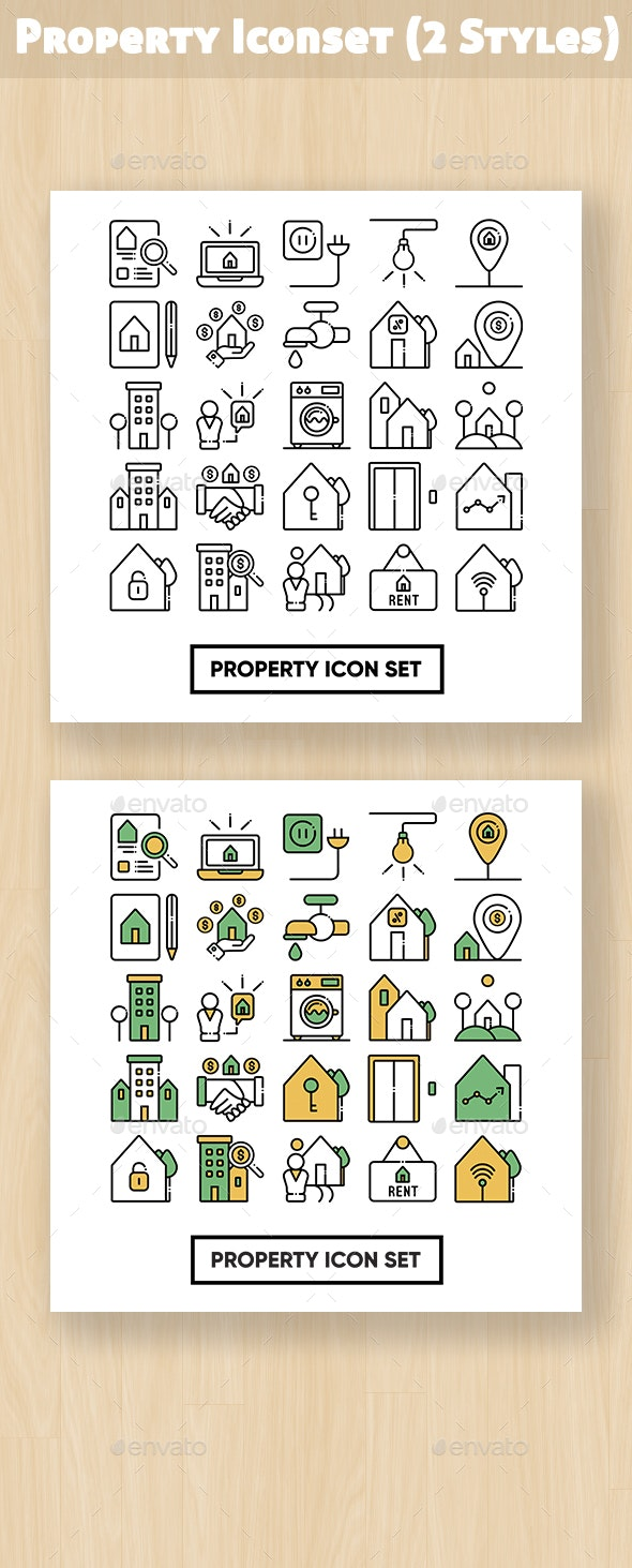 Property Iconset - Business Icons