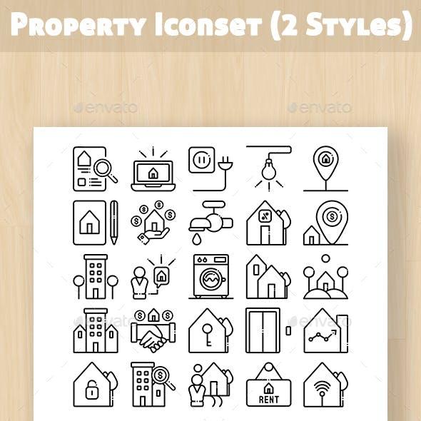 Property Iconset