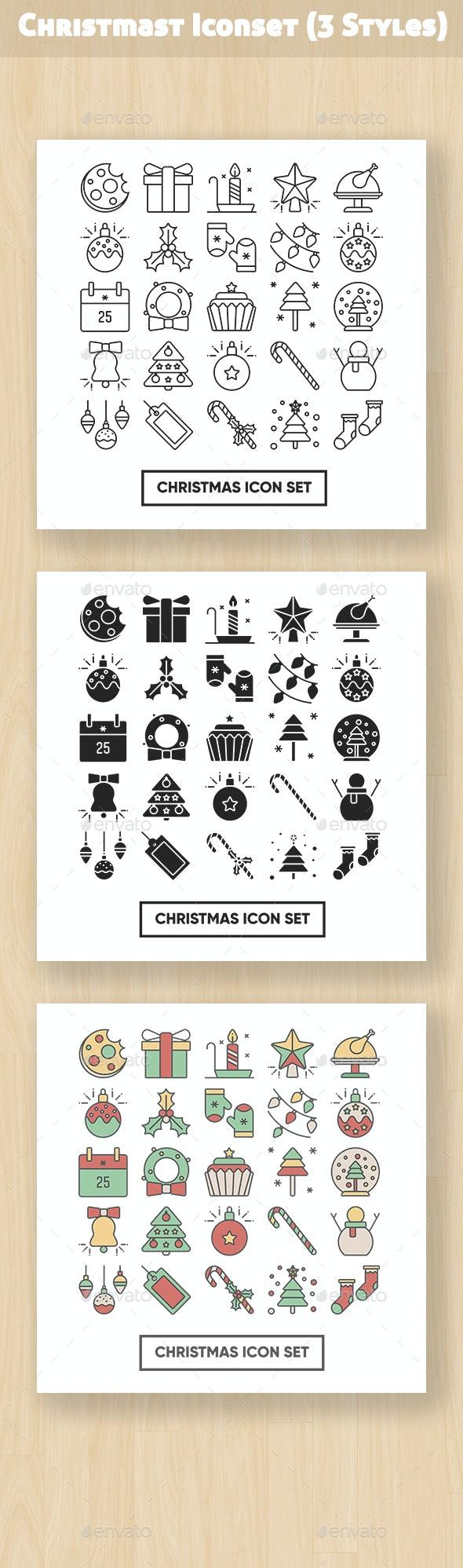 Christmas Iconset - Seasonal Icons