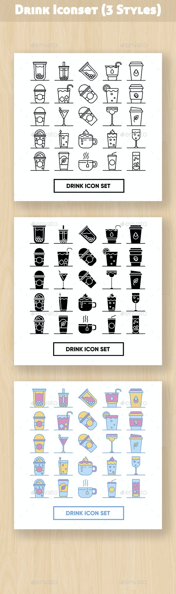 Drinks Iconset - Objects Icons
