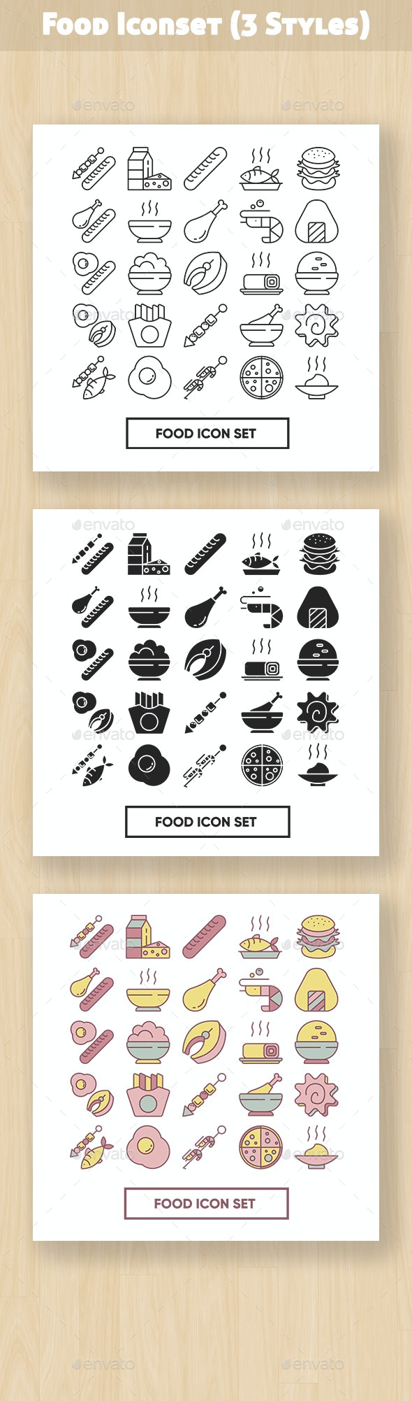 Foods Iconset - Objects Icons