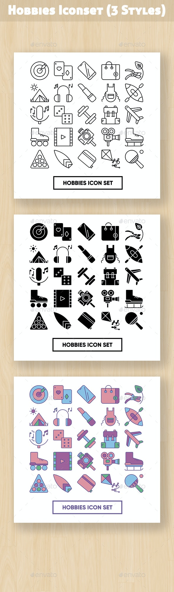 Hobbies Iconset - Objects Icons