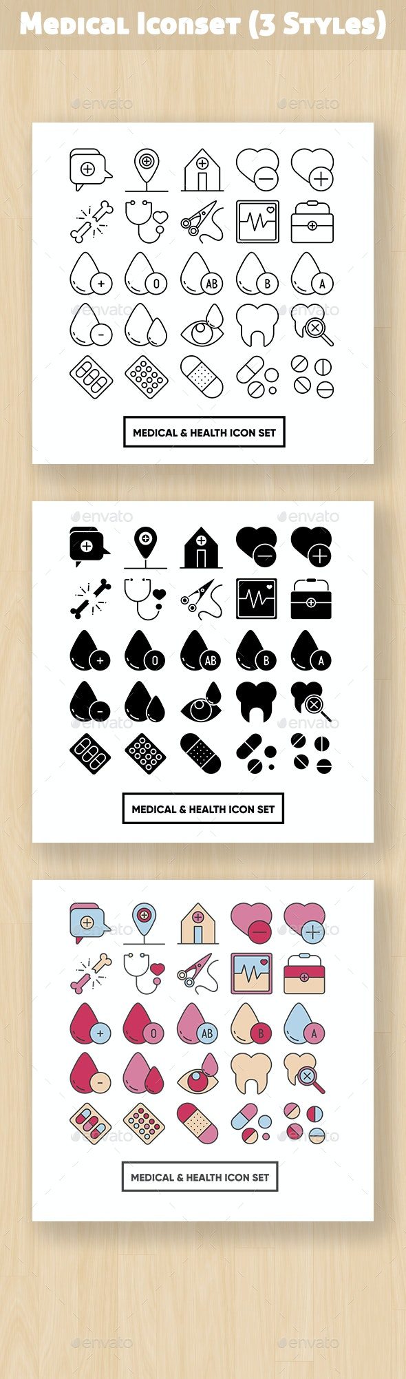 Medical And Health Iconset - Objects Icons