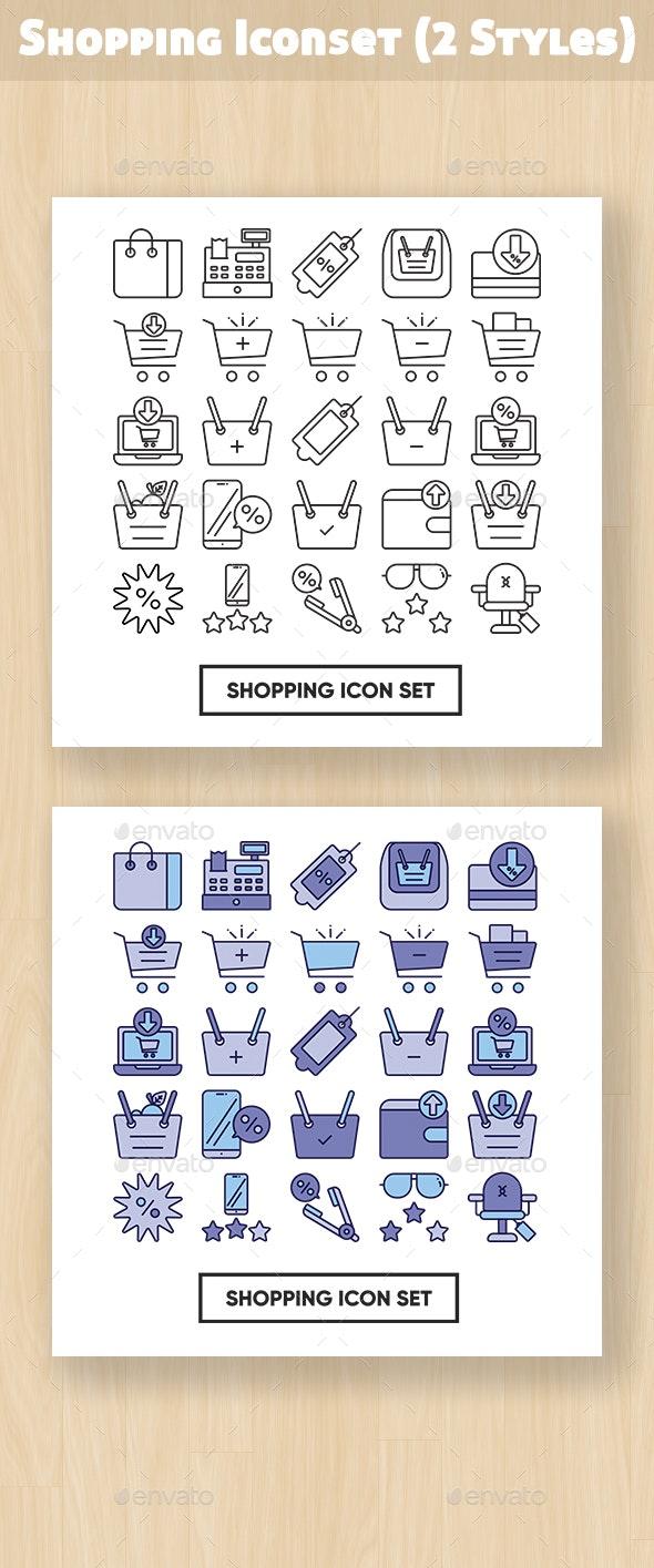 Shopping Iconset - Business Icons