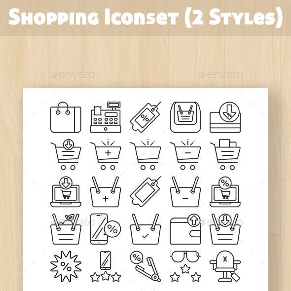 Shopping Iconset