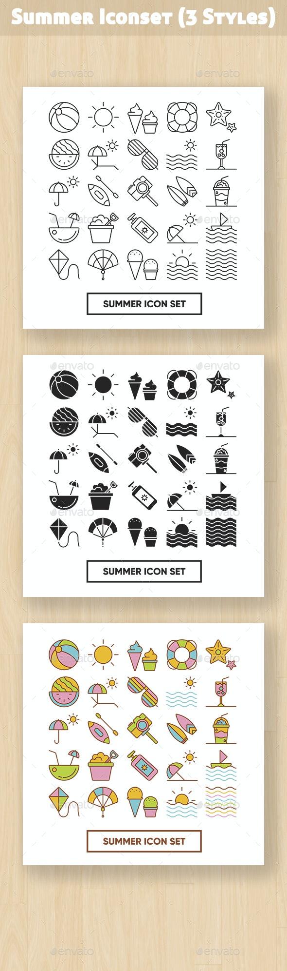 Summer Iconset - Seasonal Icons