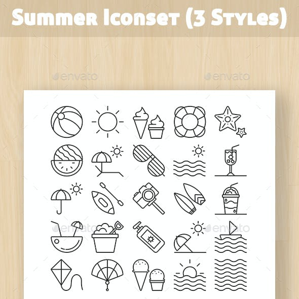 Summer Iconset