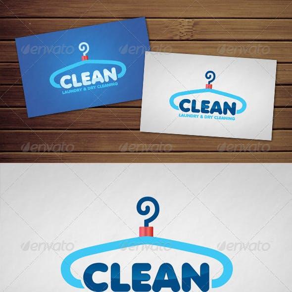 Clean Laundry Logo