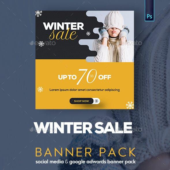 Winter Sale Banner Pack