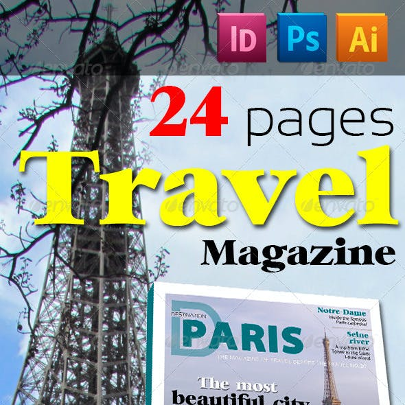 24 Pages Travel Magazine Version Two