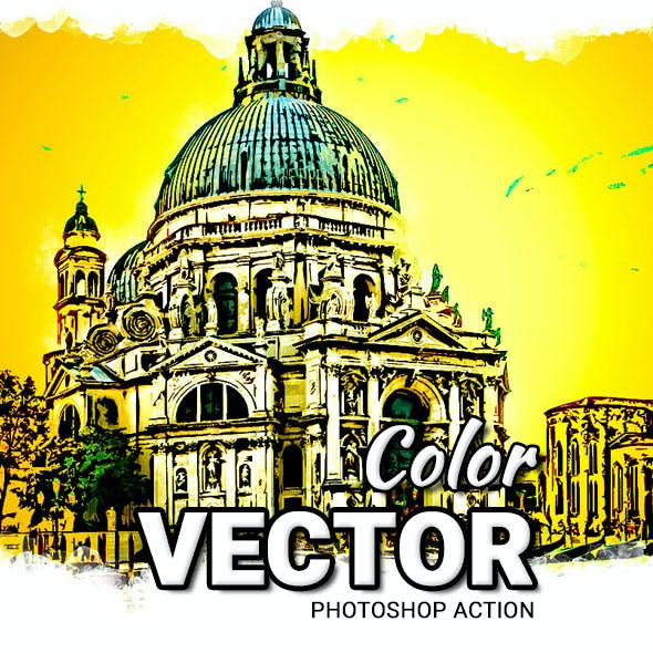 Vector Color Photoshop Action