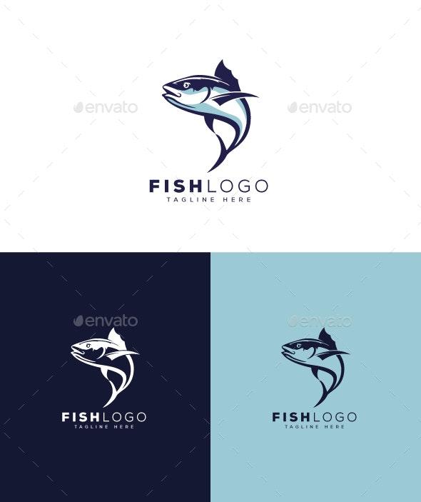 Fish Logo - Animals Logo Templates