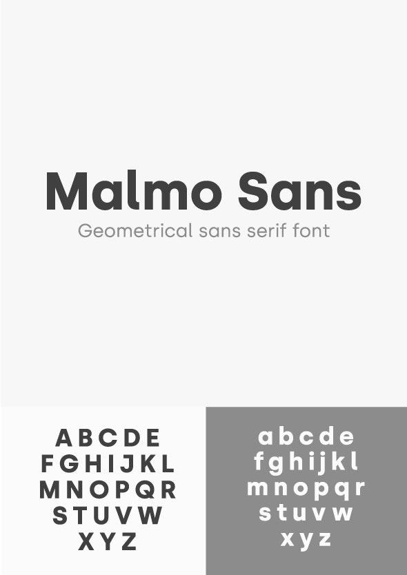 Malmo Sans Font - Miscellaneous Sans-Serif