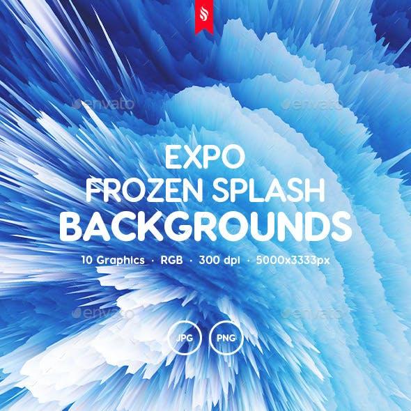 Expo - Frozen Splash Backgrounds