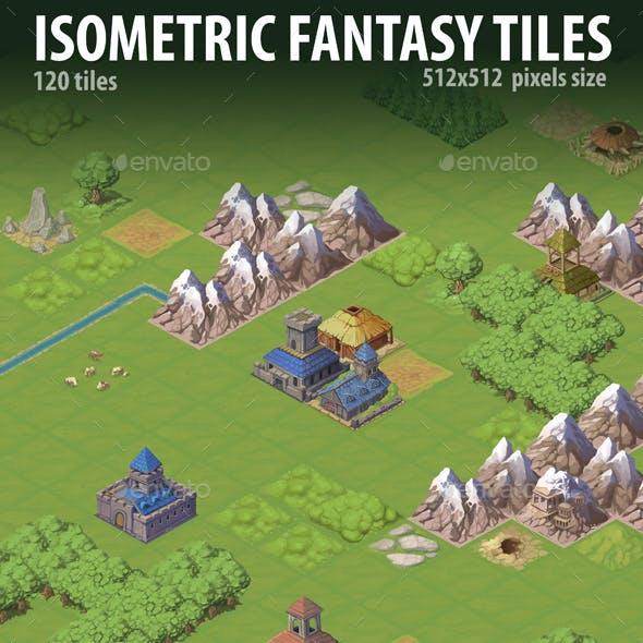 Isometric Fantasy Tiles