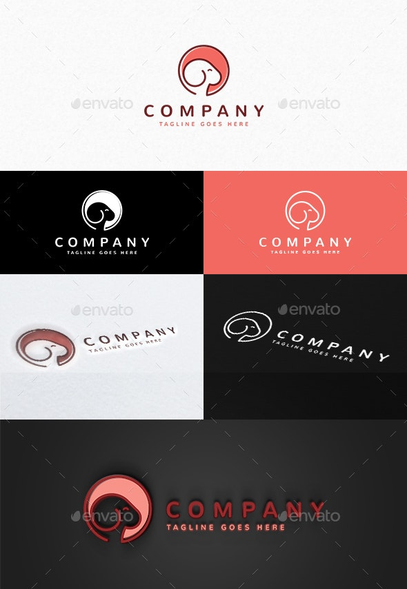 Goat Logo - Animals Logo Templates