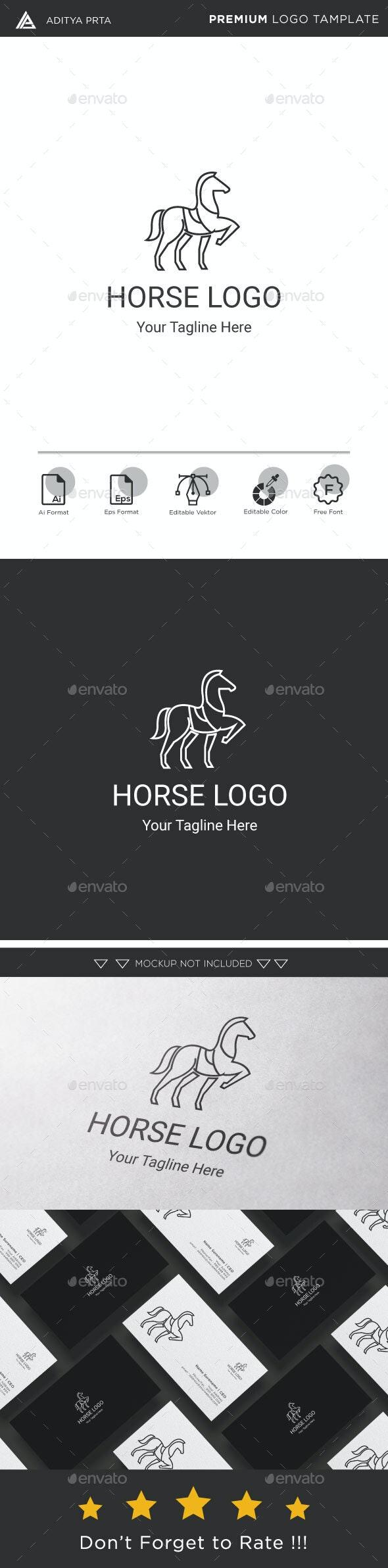 Horse Logo - Animals Logo Templates