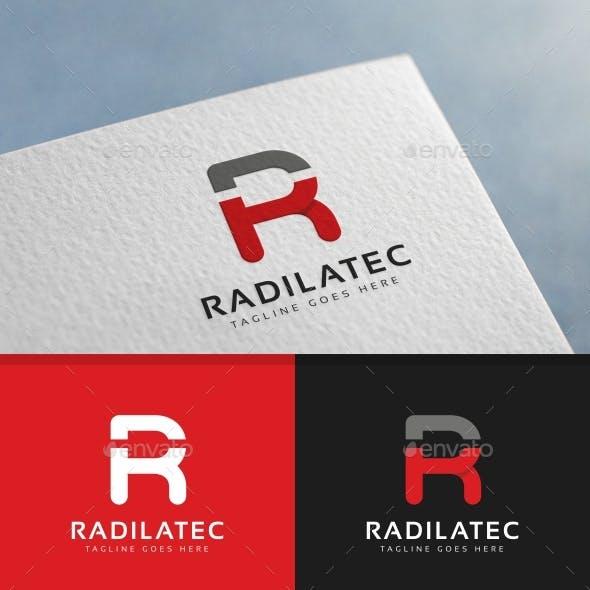 R Letter Logo Template