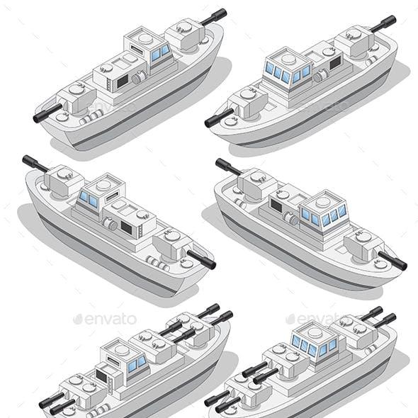 Set of Warships