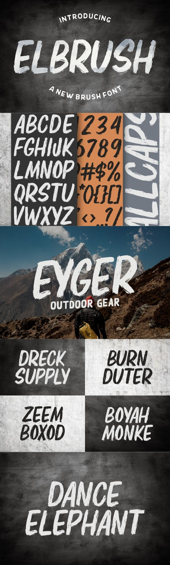 Elbrush - Grunge Decorative