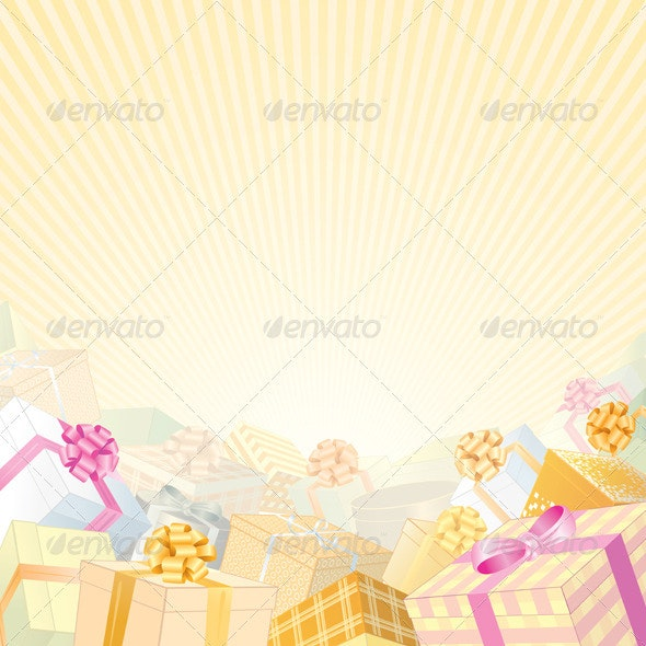 Gift Background - Seasons/Holidays Conceptual