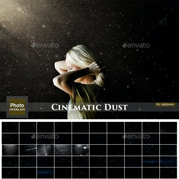 97 Cinematic Dust Overlays